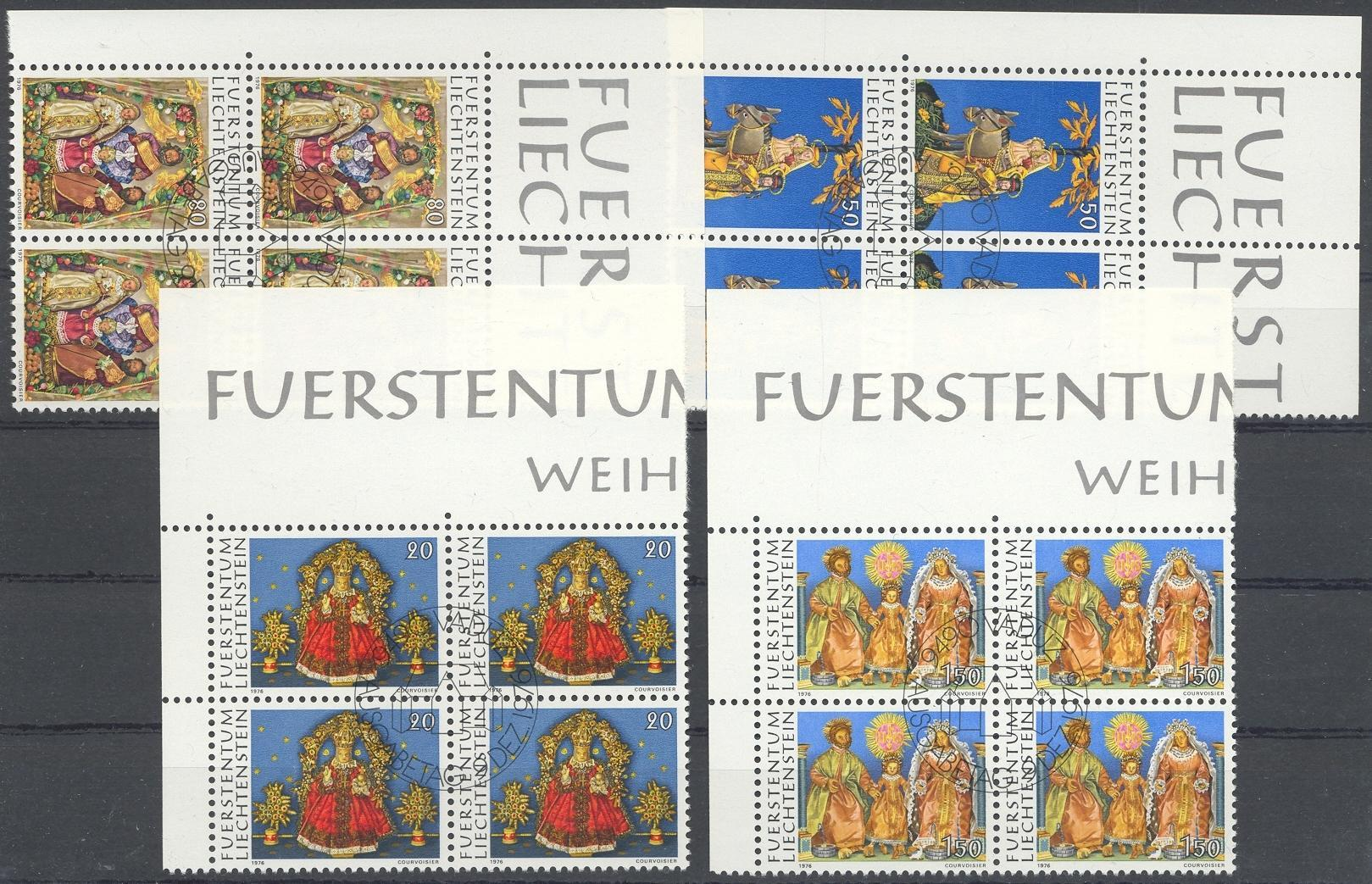 Stamps with Christmas from Liechtenstein (image for product #032226)