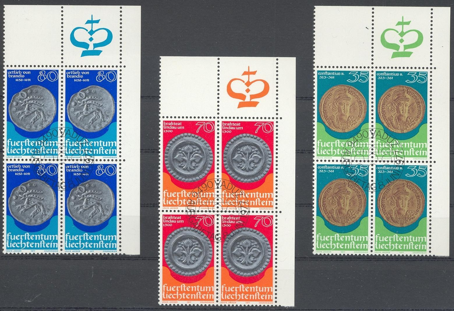 Stamps with Coins / Banknotes from Liechtenstein (image for product #032230)