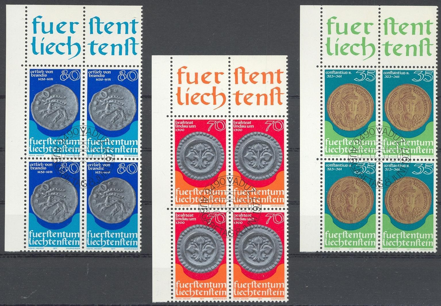 Stamps with Coins / Banknotes from Liechtenstein (image for product #032231)