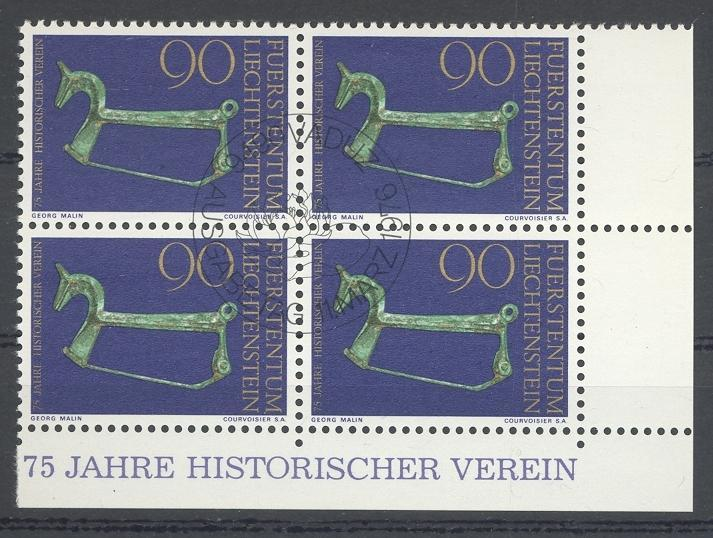 Stamps with Archaeology from Liechtenstein (image for product #032238)