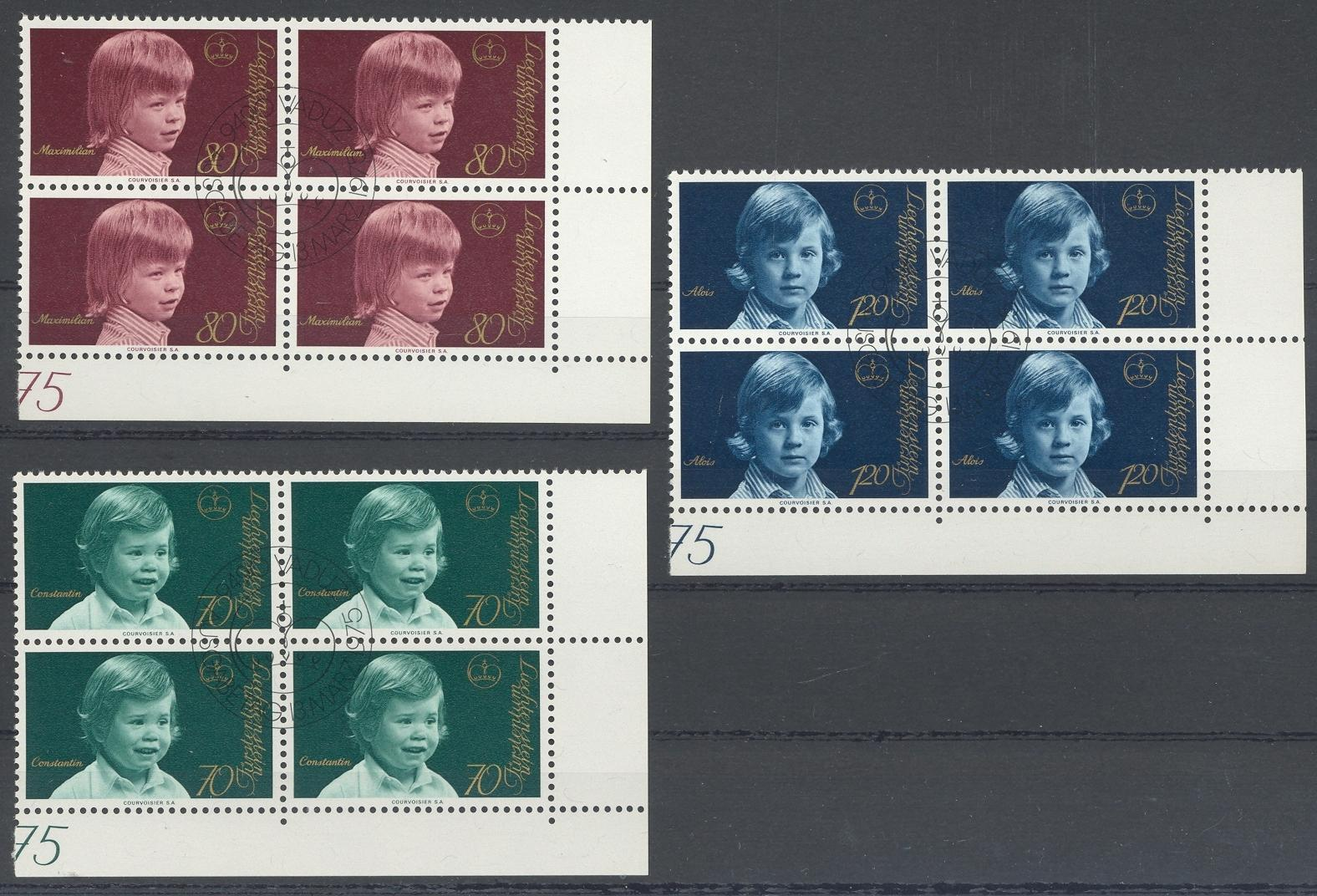 Stamps with Royalty from Liechtenstein (image for product #032250)