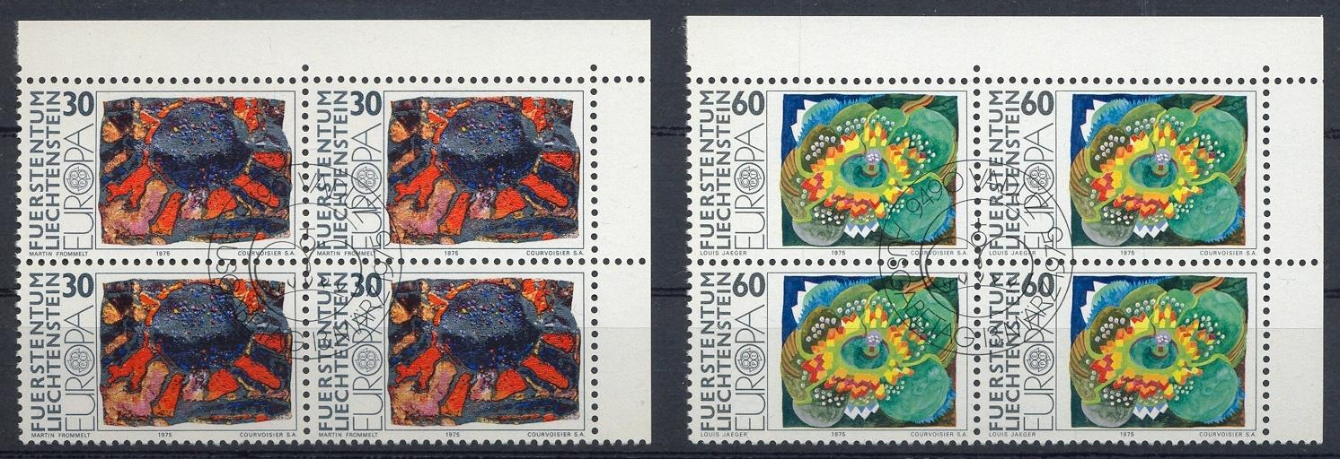 Stamps with Art, Europe CEPT from Liechtenstein (image for product #032251)