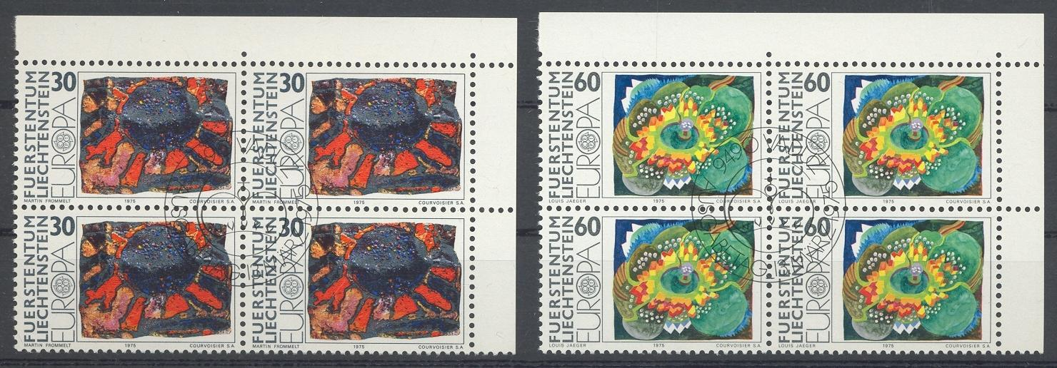 Stamps with Art, Europe CEPT from Liechtenstein (image for product #032252)