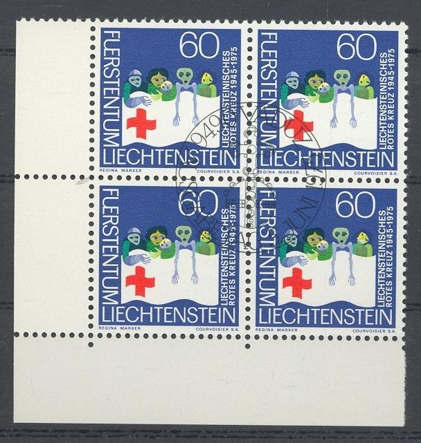 Stamps with Red Cross from Liechtenstein (image for product #032253)