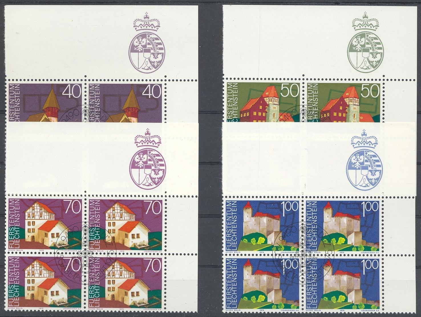Stamps with Buildings from Liechtenstein (image for product #032255)