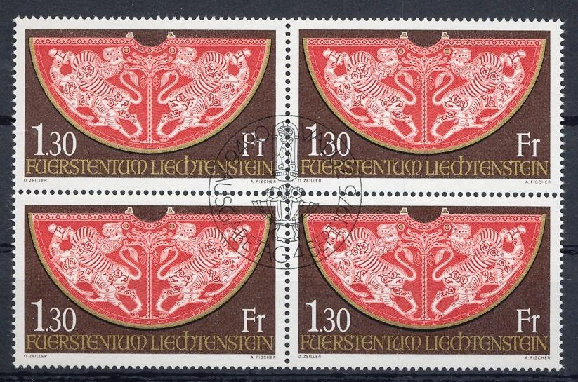 Stamps with Art from Liechtenstein (image for product #032256)