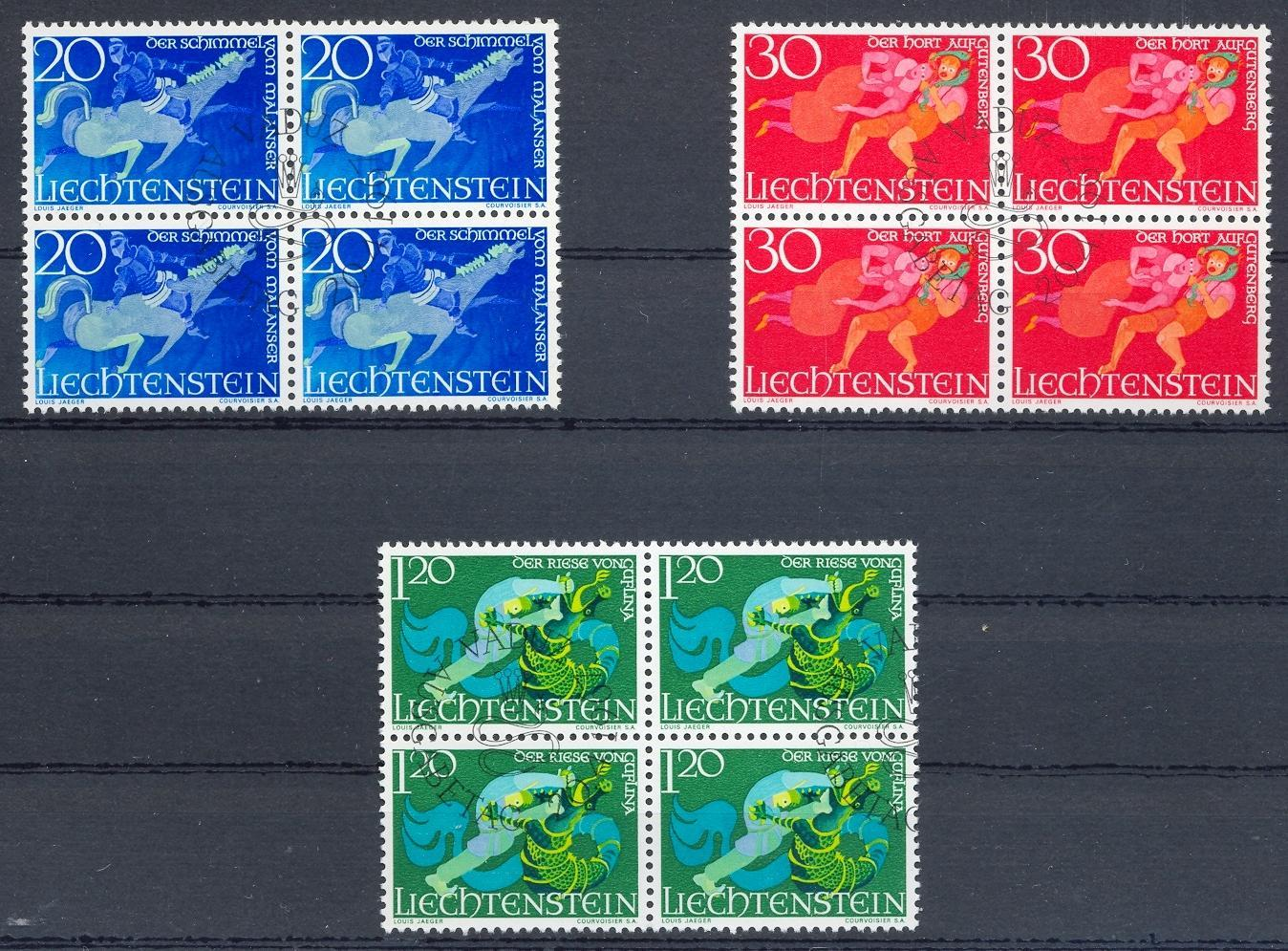 Stamps with Horse, Folklore / Fables, Dragon from Liechtenstein (image for product #032257)