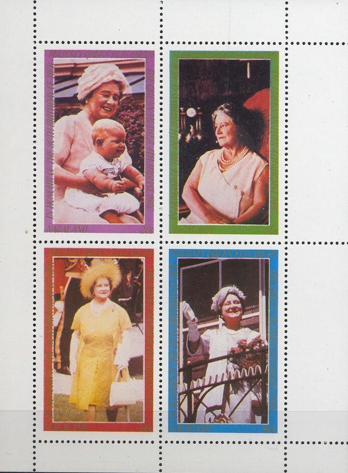 Stamps with Royalty from Nagaland (non official) (image for product #032428)