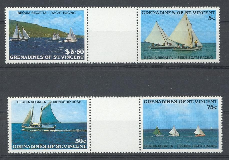 Stamps with Ship from St. Vincent (image for product #032446)