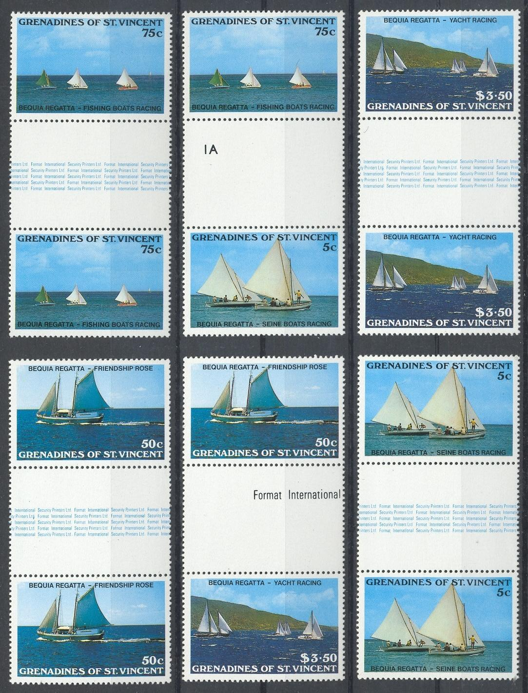 Stamps with Ship from St. Vincent (image for product #032447)