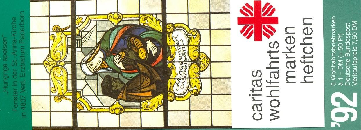 Stamps with Window, Booklet, Caritas from Germany (image for product #032521)