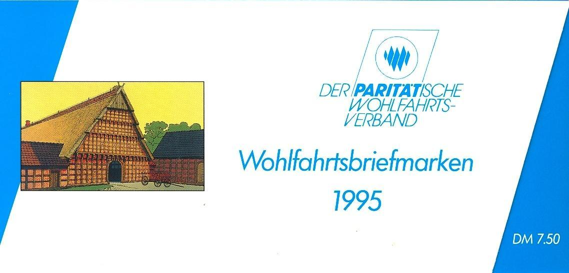 Stamps with Architecture, Booklet, Economy from Germany (image for product #032553)
