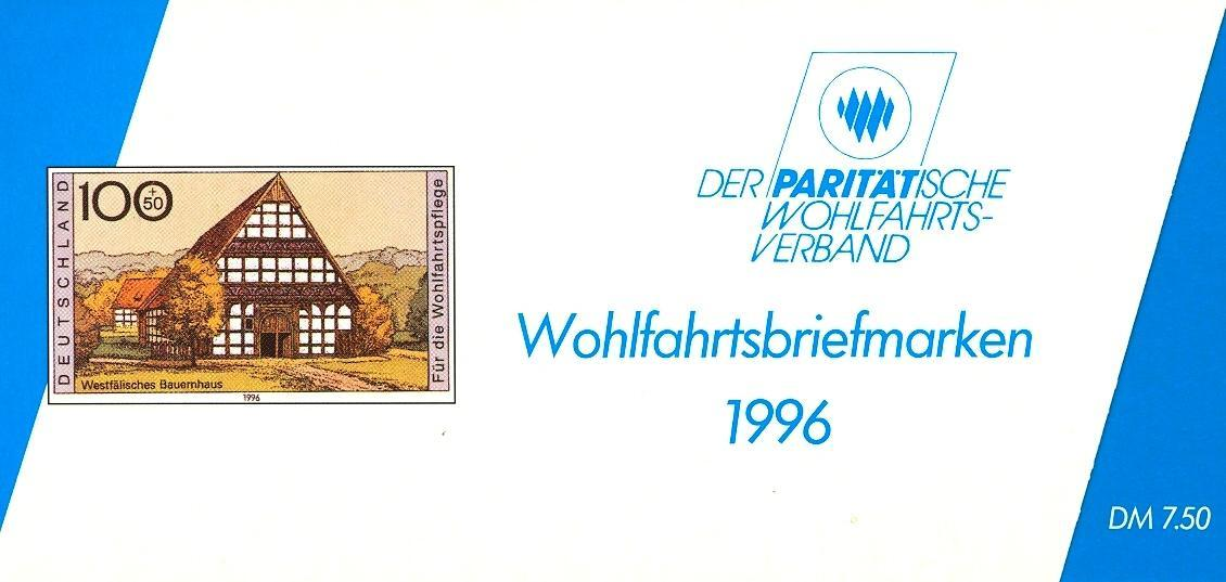 Stamps with Architecture, Booklet, Economy from Germany (image for product #032555)
