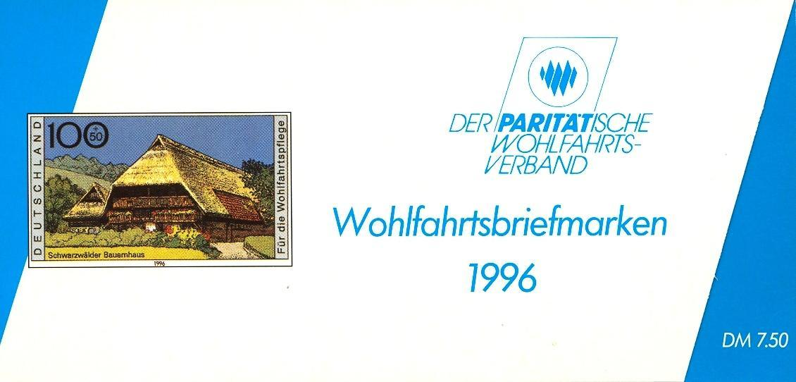 Stamps with Architecture, Booklet, Economy from Germany (image for product #032556)