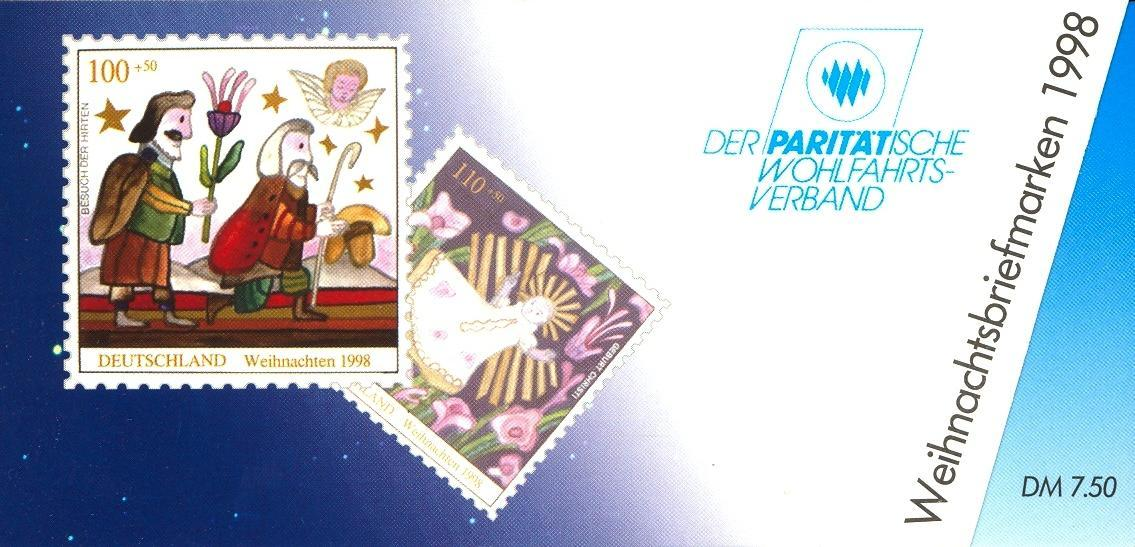 Stamps with Christmas, Booklet, Economy from Germany (image for product #032557)