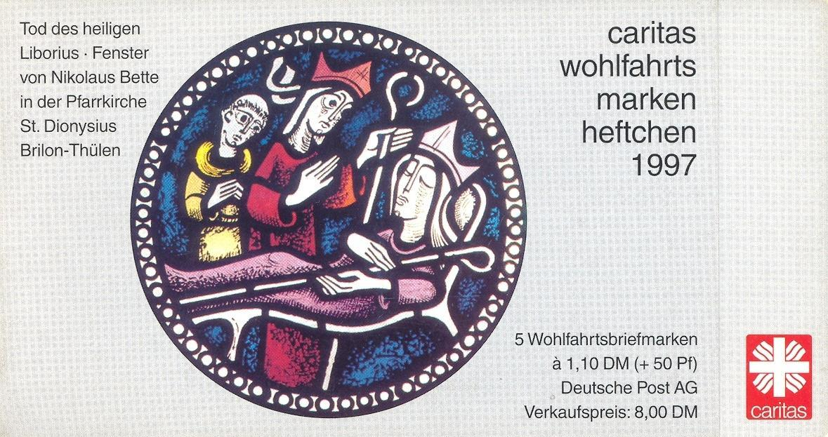 Stamps with Window, Booklet, Caritas from Germany (image for product #032570)
