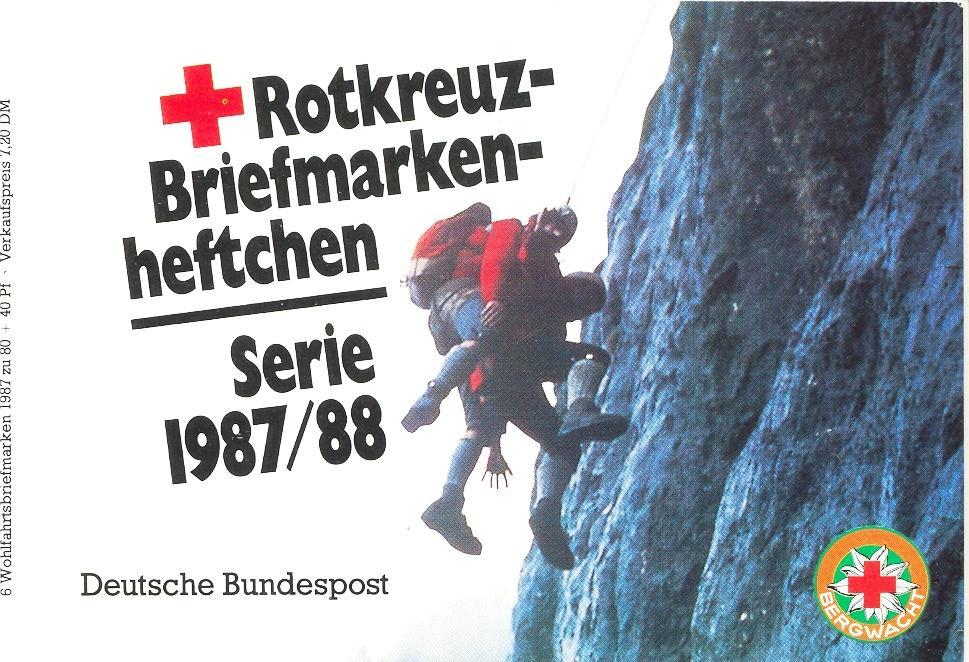Stamps with Red Cross, Booklet from Germany (image for product #032587)