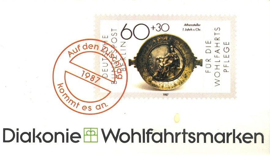 Stamps with Booklet, Religion from Germany (image for product #032596)