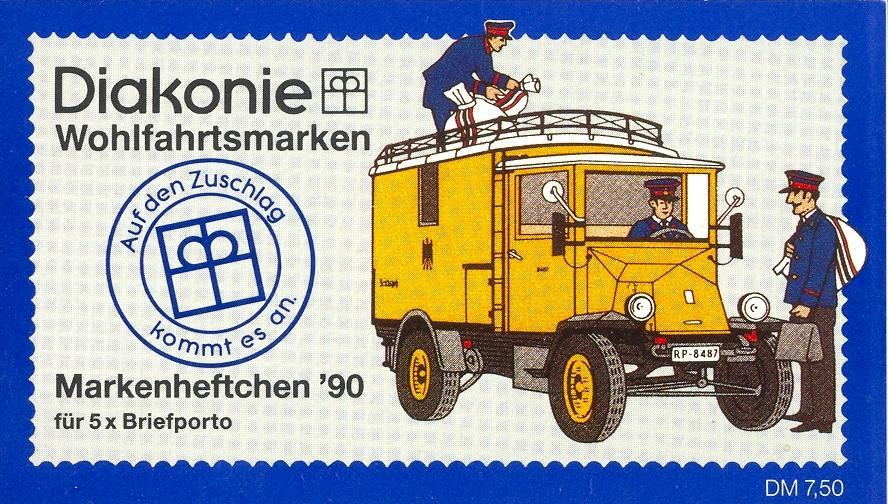 Stamps with Booklet, Religion from Germany (image for product #032598)