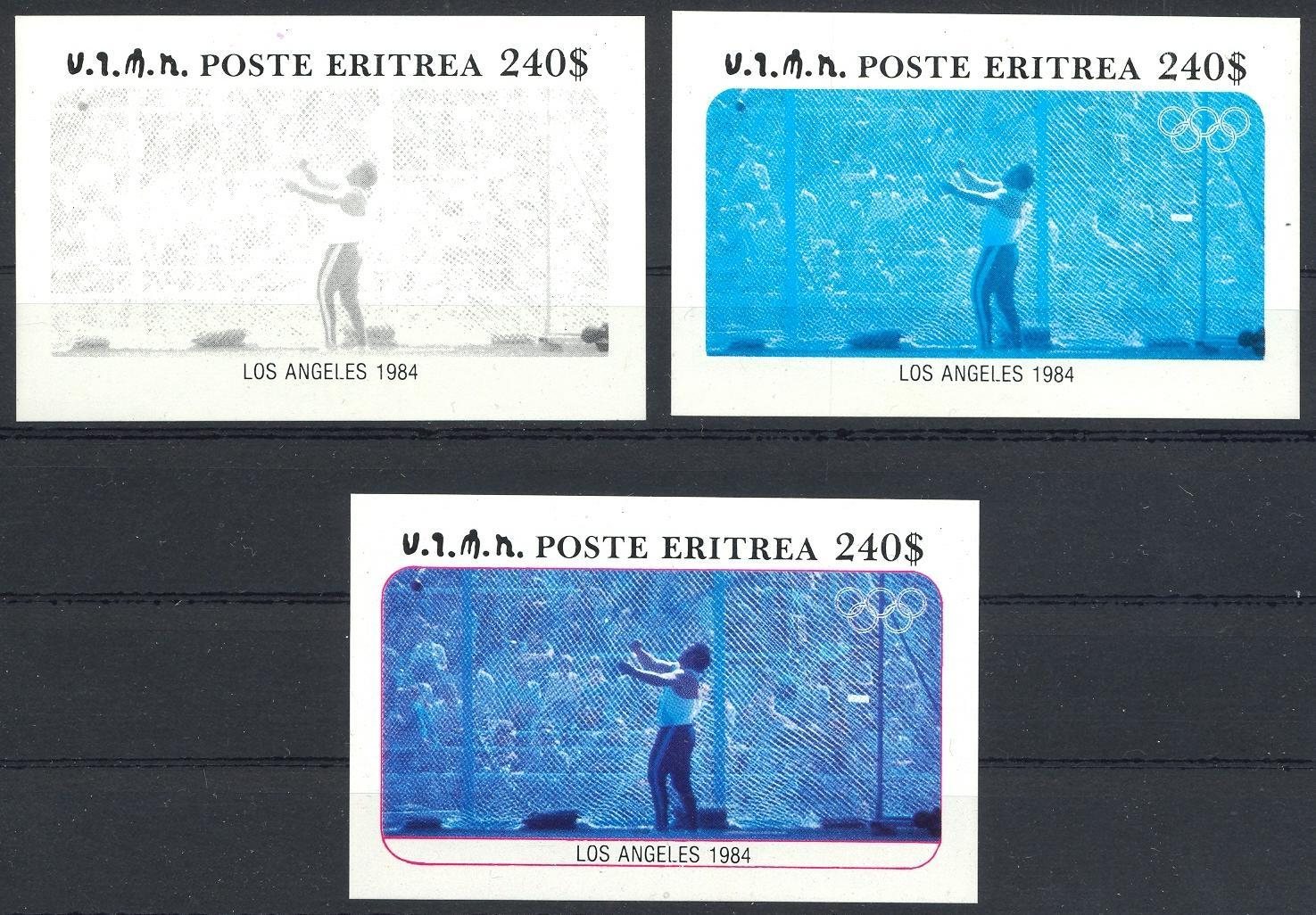 Stamps with Olympic Games, Athletics from Eritrea (image for product #032854)