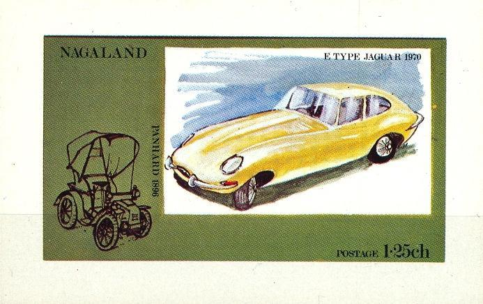Stamps with Oldtimers, Cars from Nagaland (non official) (image for product #032869)