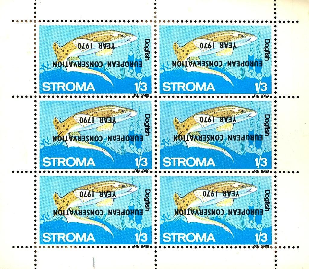 Stamps with Nature Preservation, Fish from  (image for product #032891)