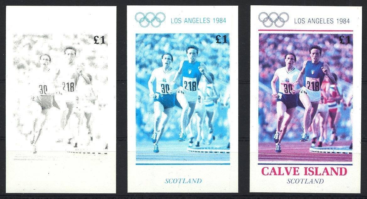 Stamps with Olympic Games from  (image for product #032993)