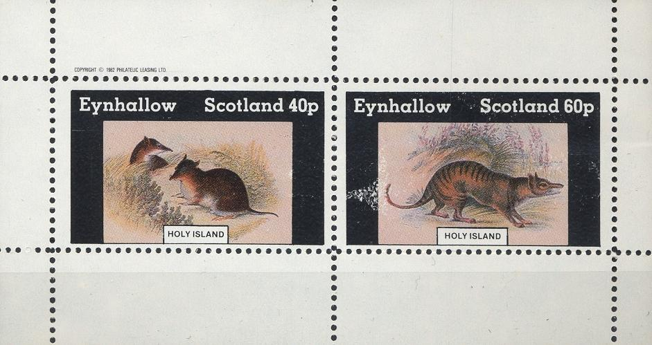 Stamps with Rodents from Eynhallow (non official) (image for product #033060)