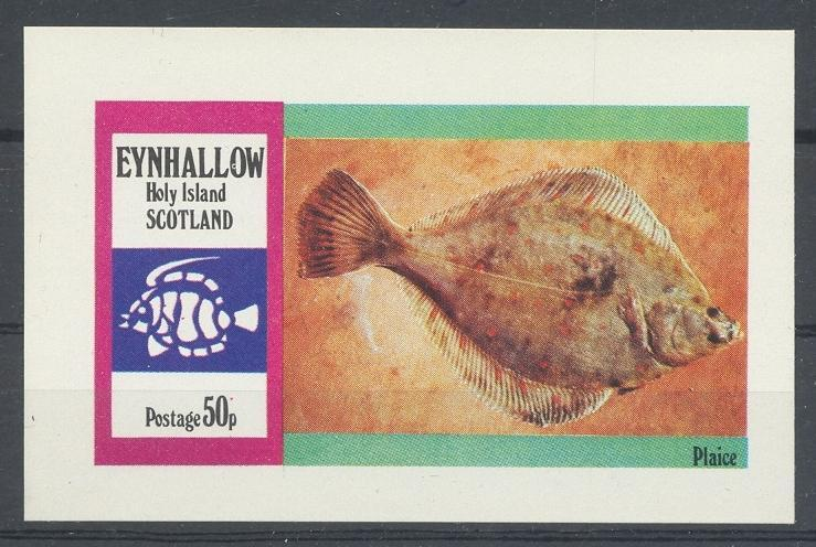Stamps with Fish from Eynhallow (non official) (image for product #033067)