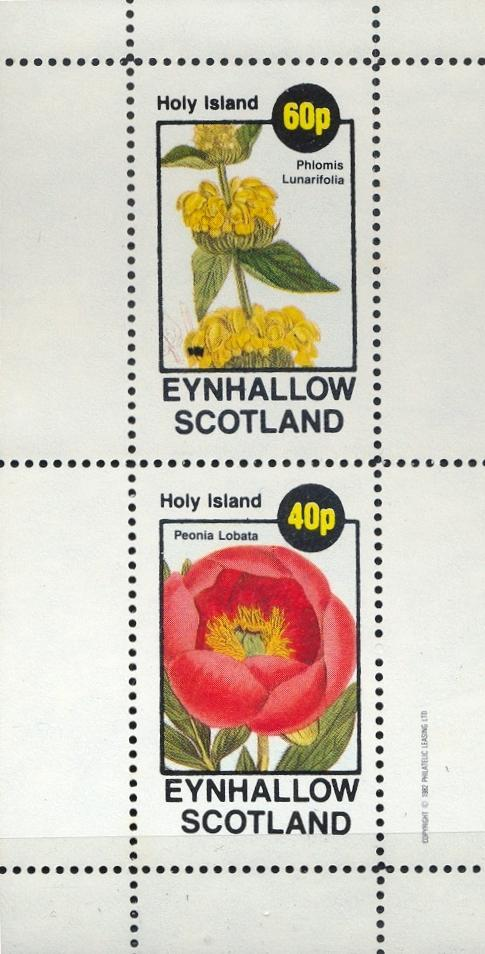 Stamps with Flowers from Eynhallow (non official) (image for product #033070)