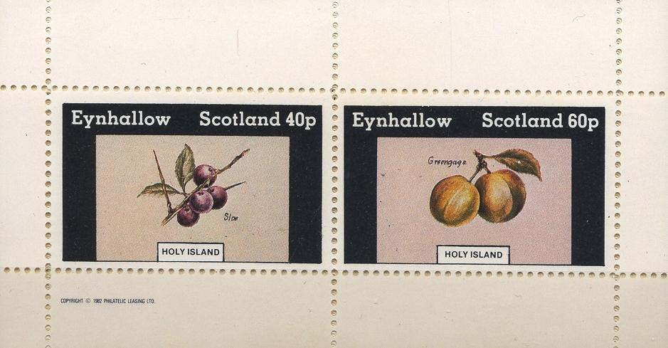 Stamps with Fruits from Eynhallow (non official) (image for product #033072)