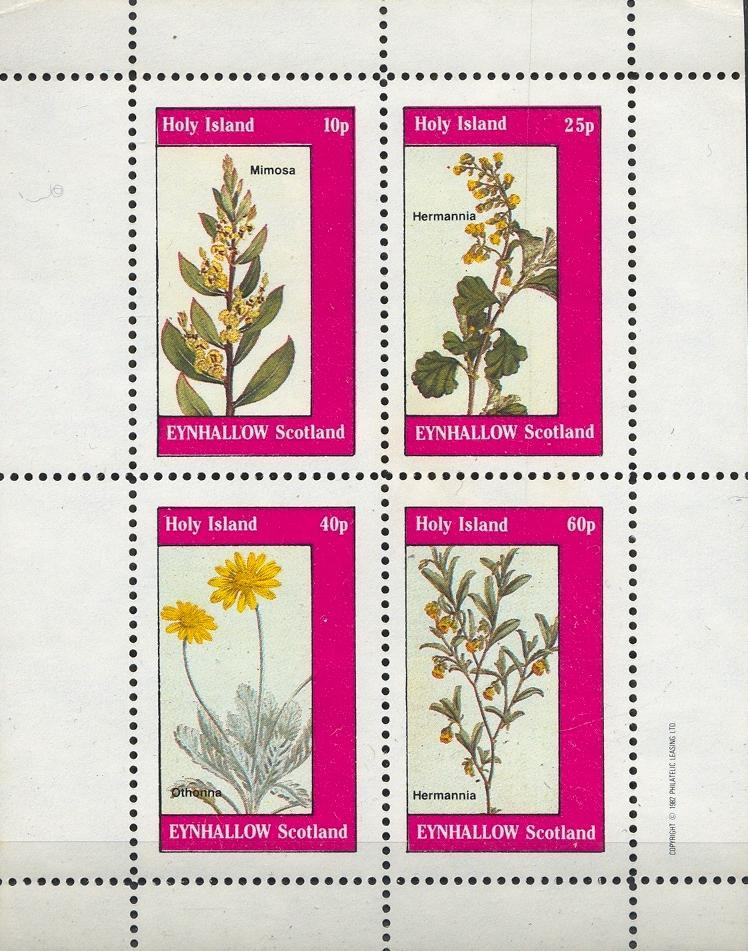 Stamps with Flowers from Eynhallow (non official) (image for product #033077)