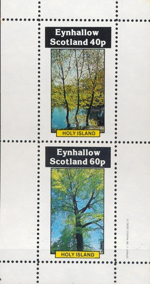 Stamps with Tree from Eynhallow (non official) (image for product #033087)