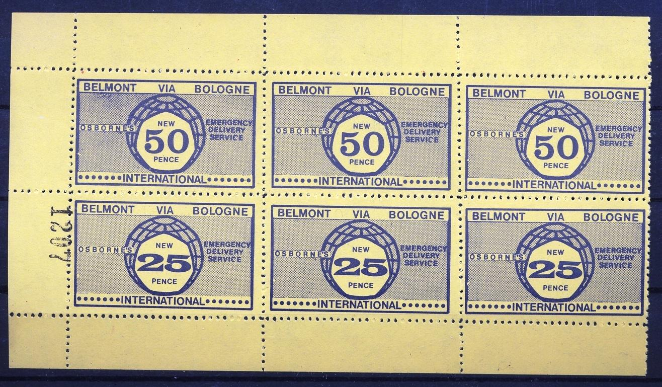 Stamps with Miscellaneous from United Kingdom (image for product #033108)