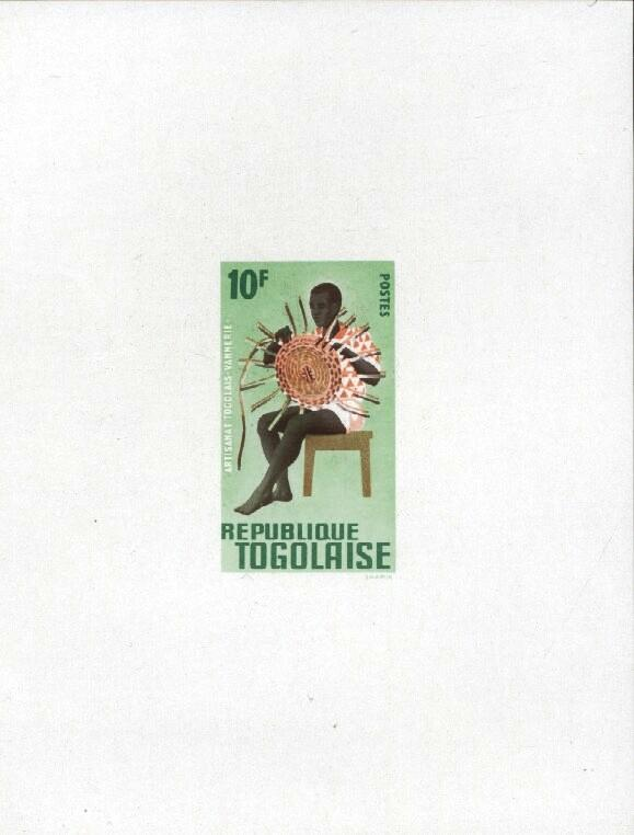 Stamps with Culture from Togo (image for product #033386)