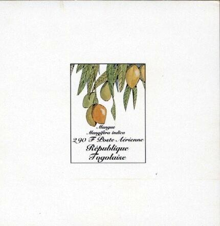 Stamps with Fruits from Togo (image for product #033398)