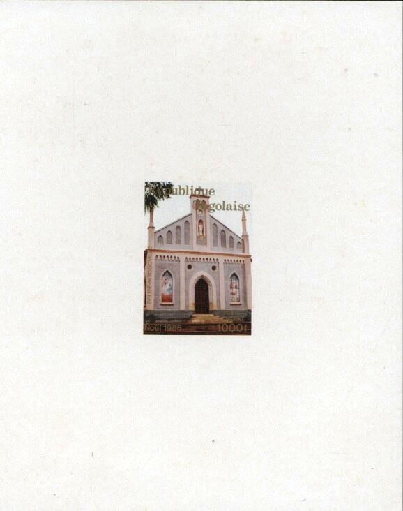 Stamps with Architecture, Church from Togo (image for product #033403)