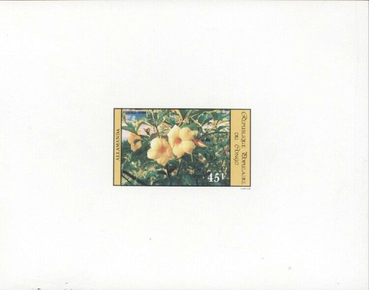Stamps with Flowers from Congo (image for product #033439)