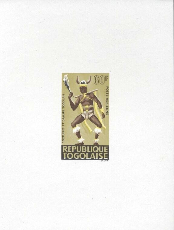 Stamps with Dance, Costumes from Togo (image for product #033459)