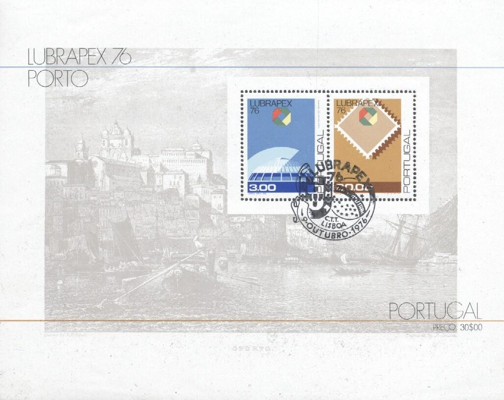 Stamps with Ship, Philatelic Exhibition from Portugal (image for product #033934)