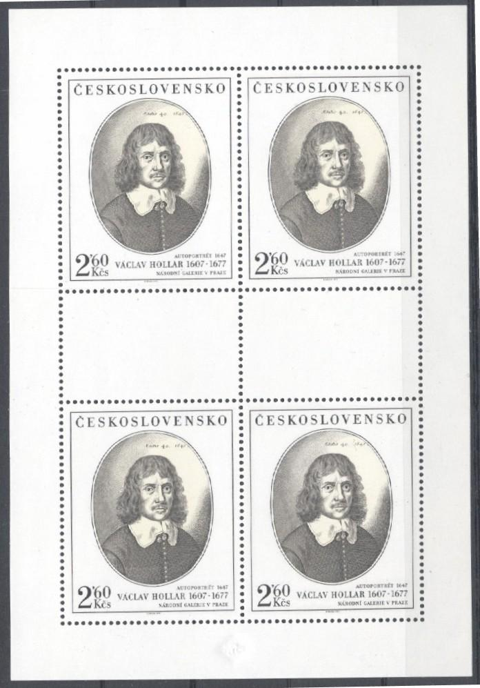 Stamps with Art from Czechoslovakia (image for product #034609)