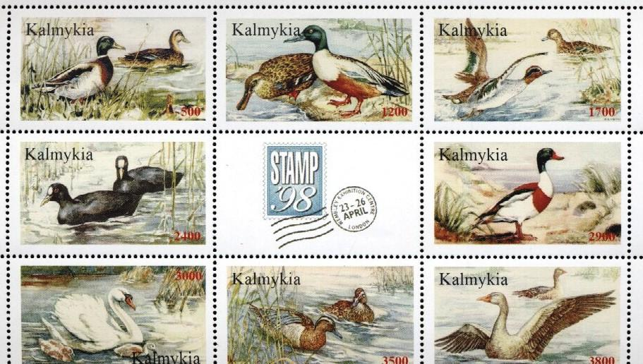 Stamps with Ducks, Bird from  (image for product #034871)
