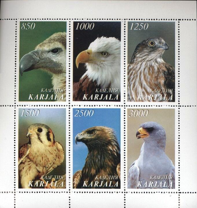 Stamps with Eagle, Bird from  (image for product #034918)