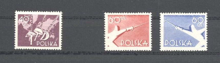 Stamps with Fencing from Poland (image for product #035058)