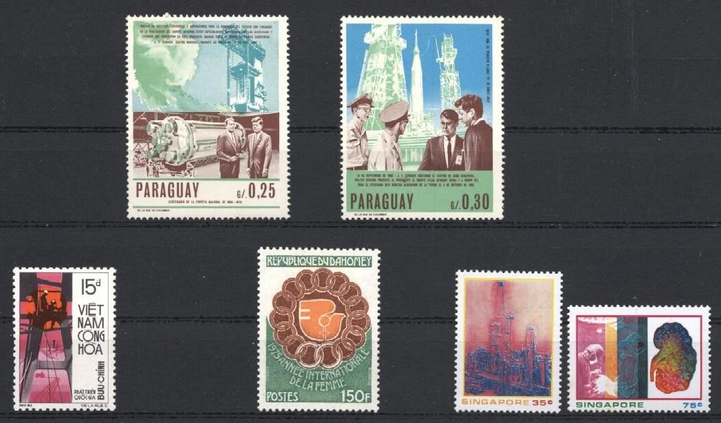 Stamps with Communication, Space from World (image for product #035374)