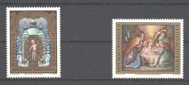 Stamps with Art, Christmas from Austria (image for product #035472)