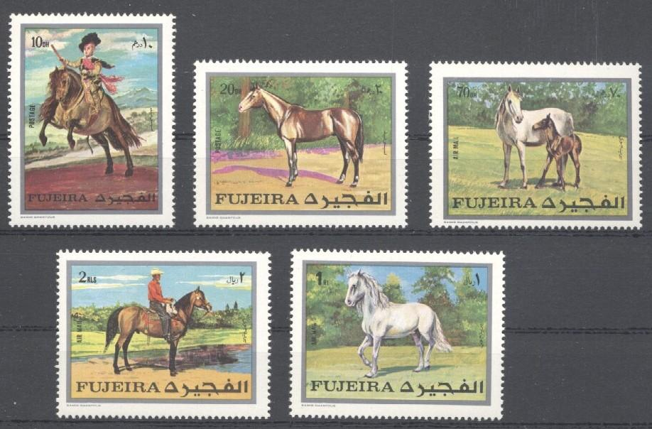 Stamps with Horse from Fujeira (image for product #035760)