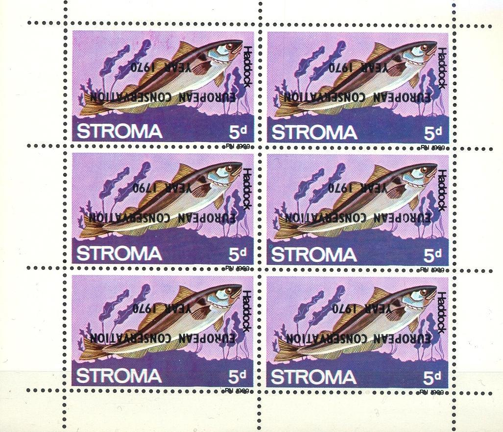 Stamps with Fish, Nature Preservation from  (image for product #035864)