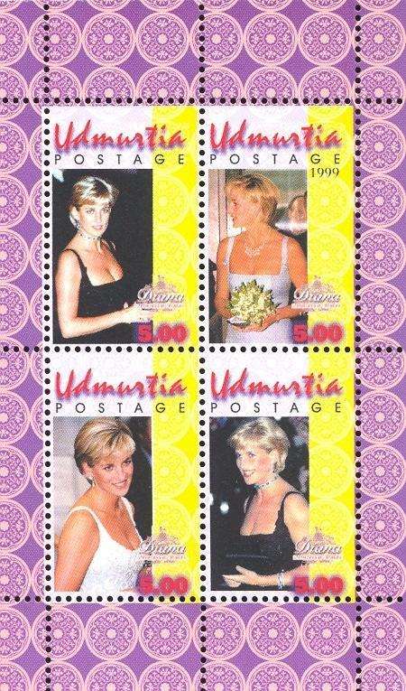 Stamps with Diana from  (image for product #035879)