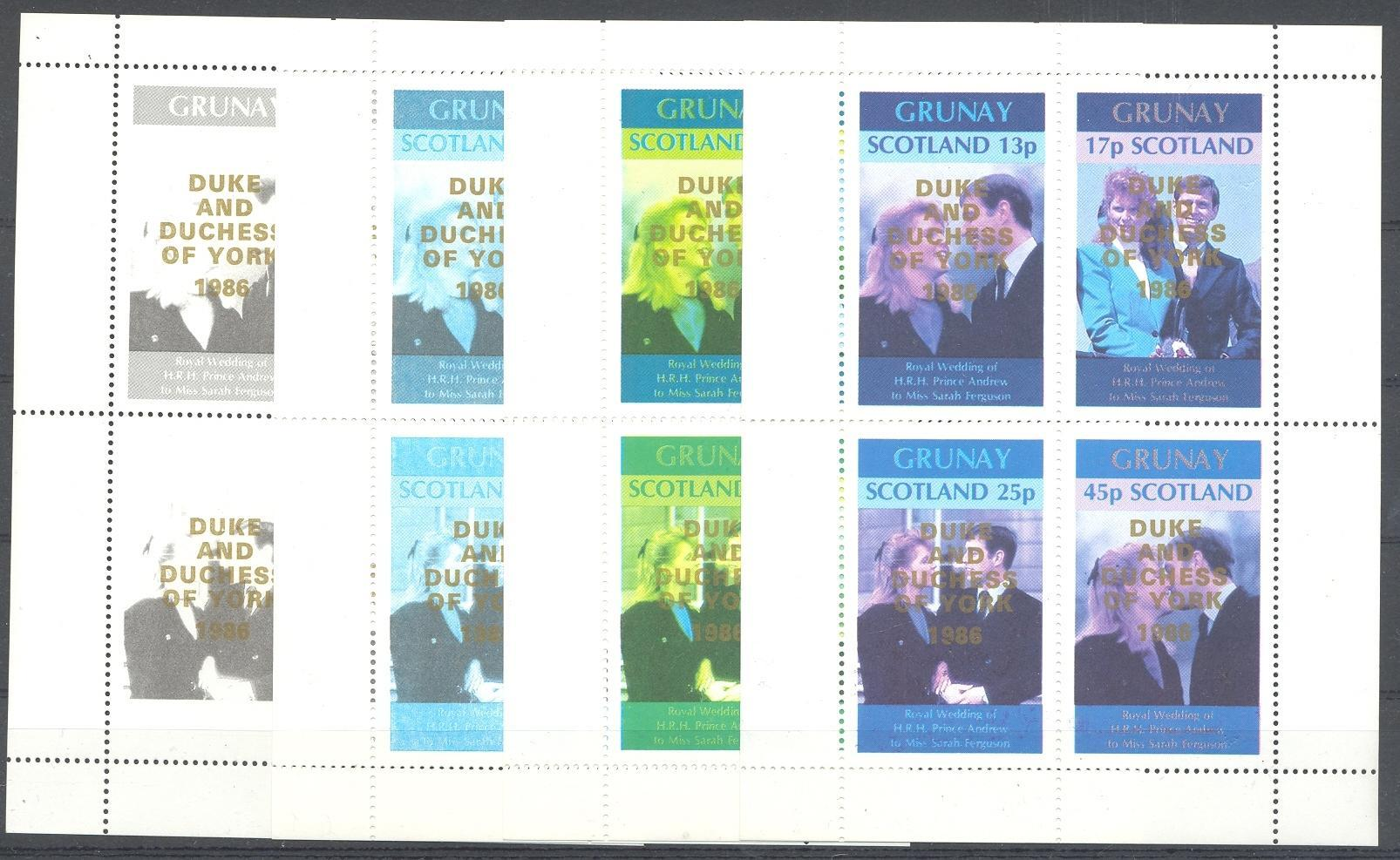 Stamps with Royalty from  (image for product #035880)